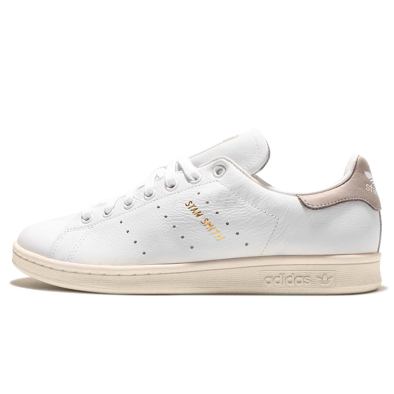 adidas Originals Stan Smith White Clear Granite Mens Classic Trainers S75075