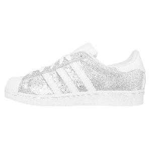 adidas superstar nere e bianche donna superstar argento brillantini