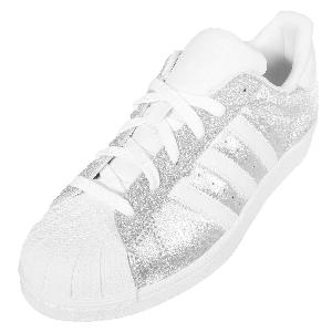 Adidas Superstar Glitter Zilver