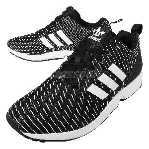 Adidas Zx Flux Black N White