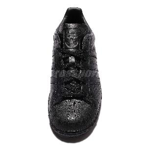 xvsga adidas Originals Superstar W Black Snakeskin Leather Womens Casual