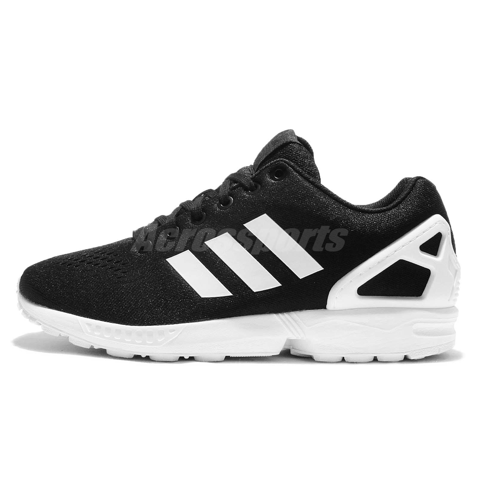 best sneakers 4615e a724e ... adidas Originals ZX Flux EM Black White Mens Casual Shoes Sneakers  S76499 .