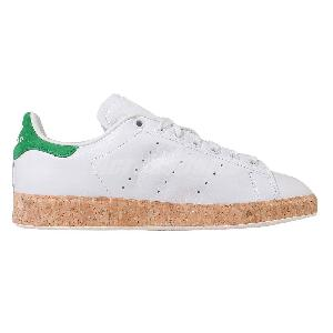 Adidas Originals Stan Smith Luxe W White Green Cork Womens Casual Shoes S78908