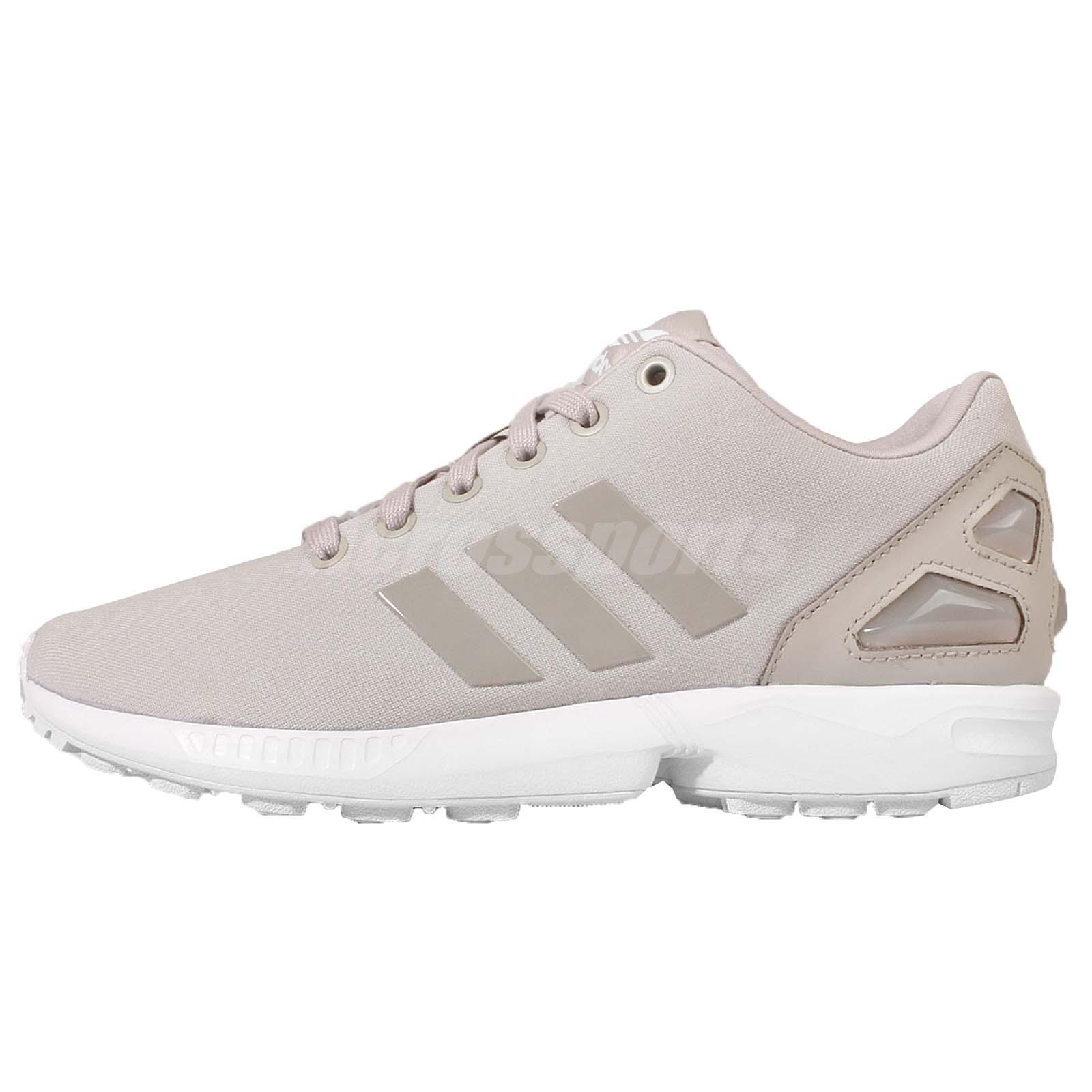 Adidas Flux Grey And White