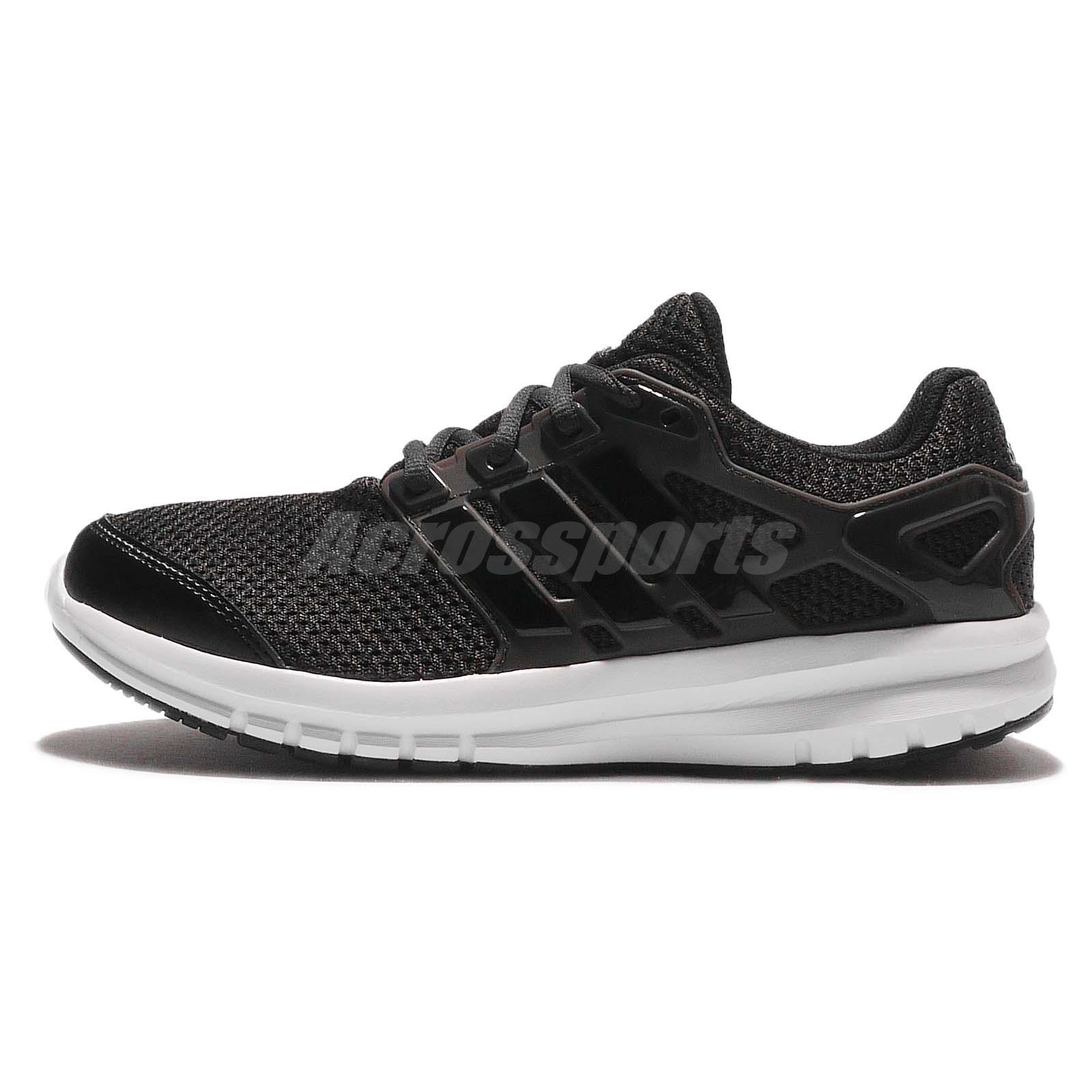 adidas Energy Cloud K Black White Kid Youth Junior Running Shoes Sneakers S79830