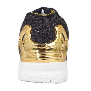 Adidas Flux Navy And Gold