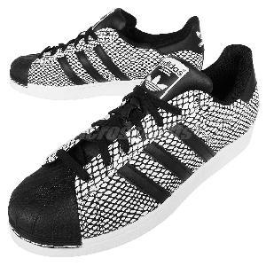 ajupj Adidas Superstar Snake Pack Black White Snakeskin Classic Shoes
