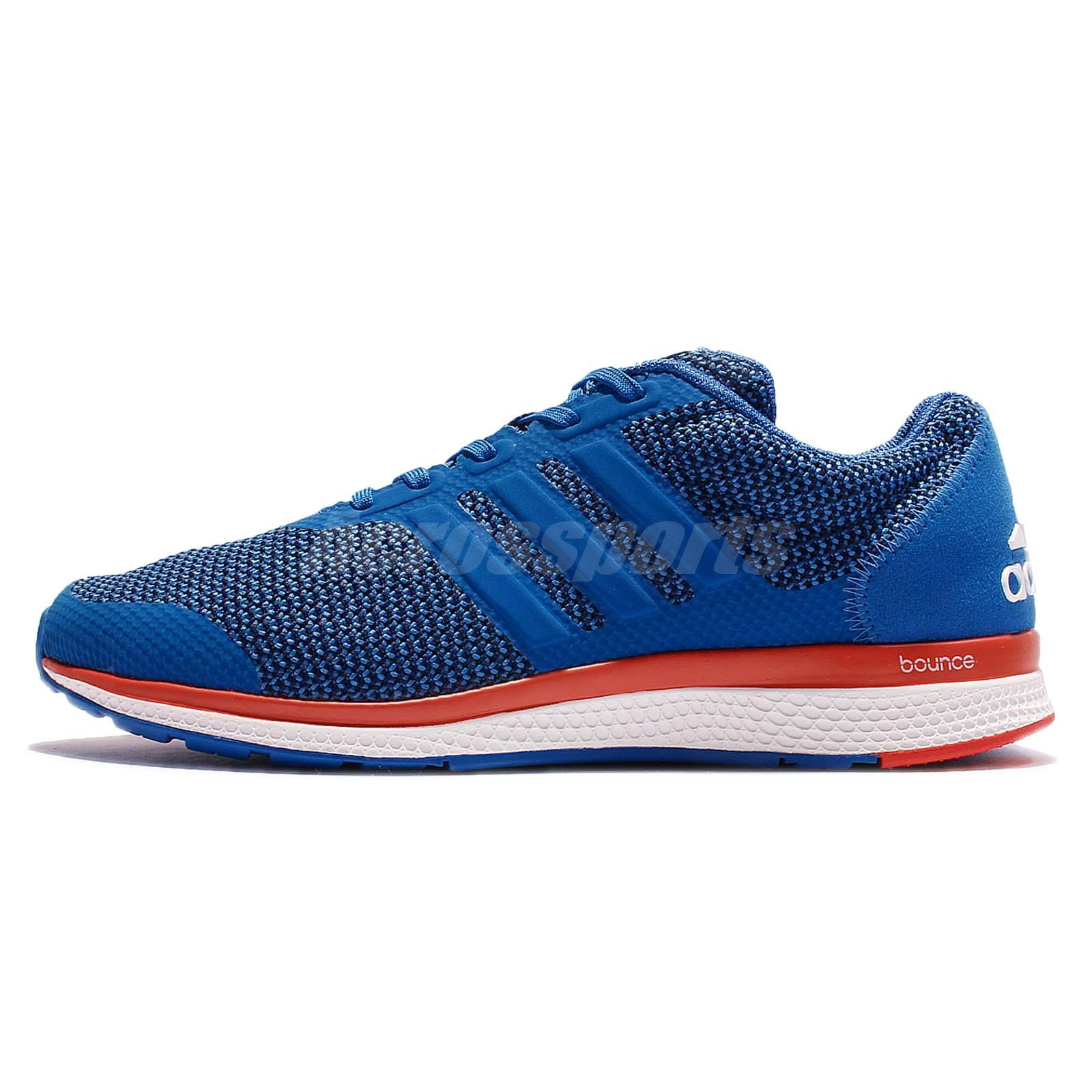 adidas Lightster Bounce M Blue Red Men Running Shoes Sneakers Trainers S82328
