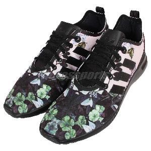 Adidas Flux Black Floral