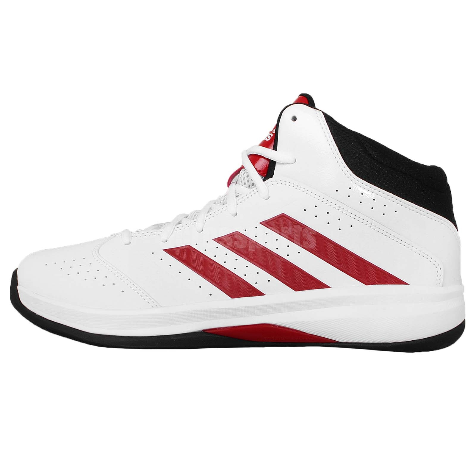 adidas isolation 2 white black red 2015 mens basketball. Black Bedroom Furniture Sets. Home Design Ideas