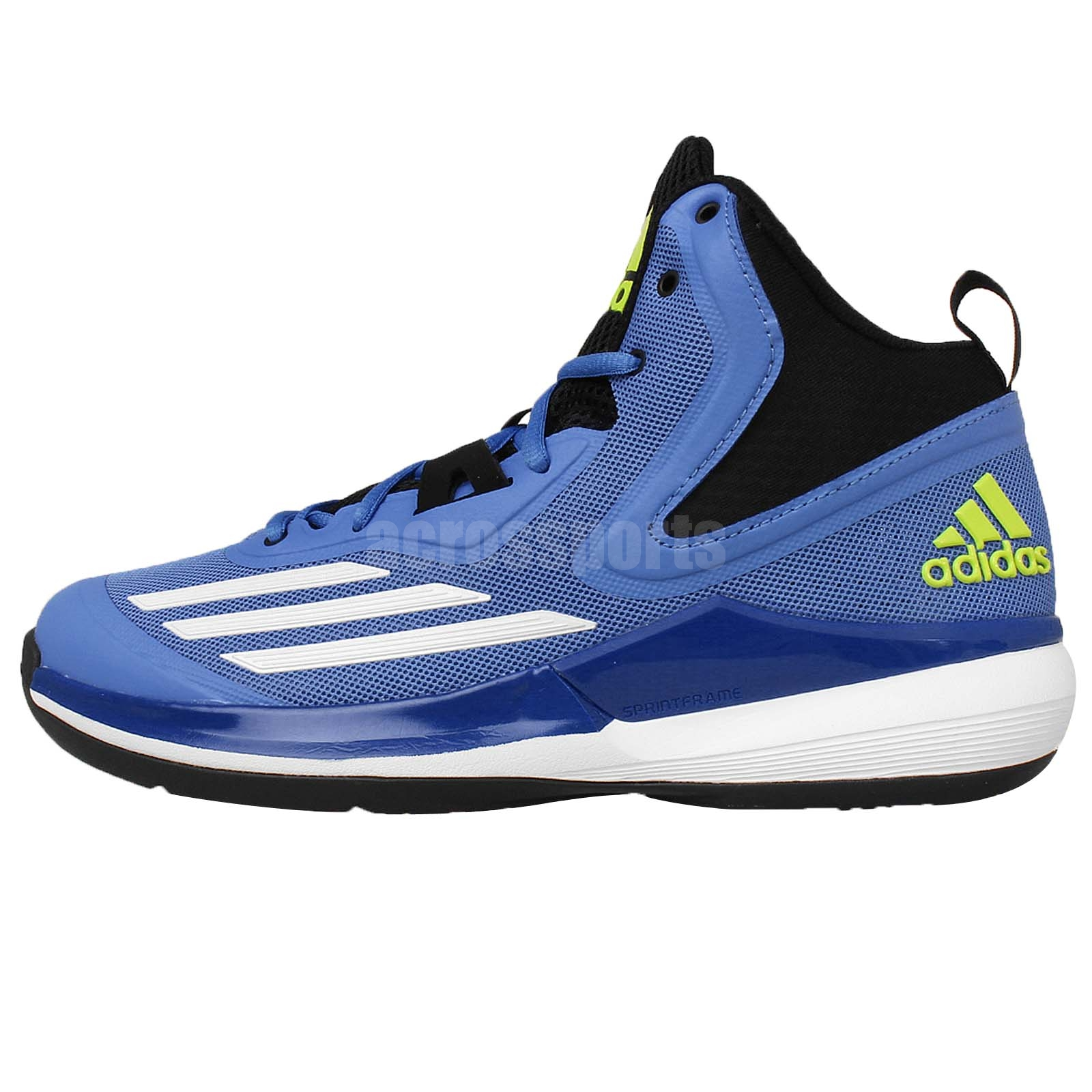 adidas title run blue white 2015 new mens basketball shoes
