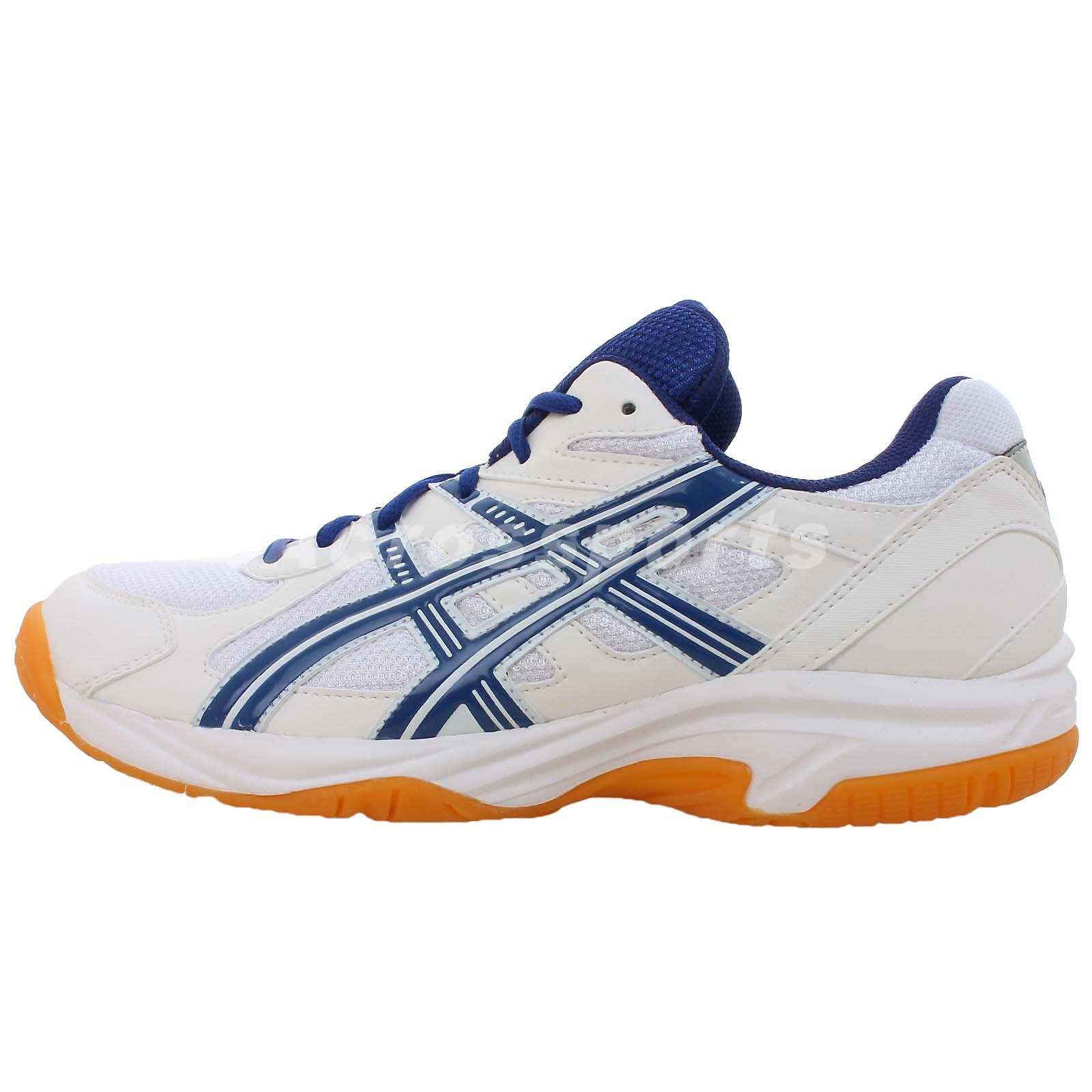 asics geldoha 2013 mens badminton volleyball shoes gum