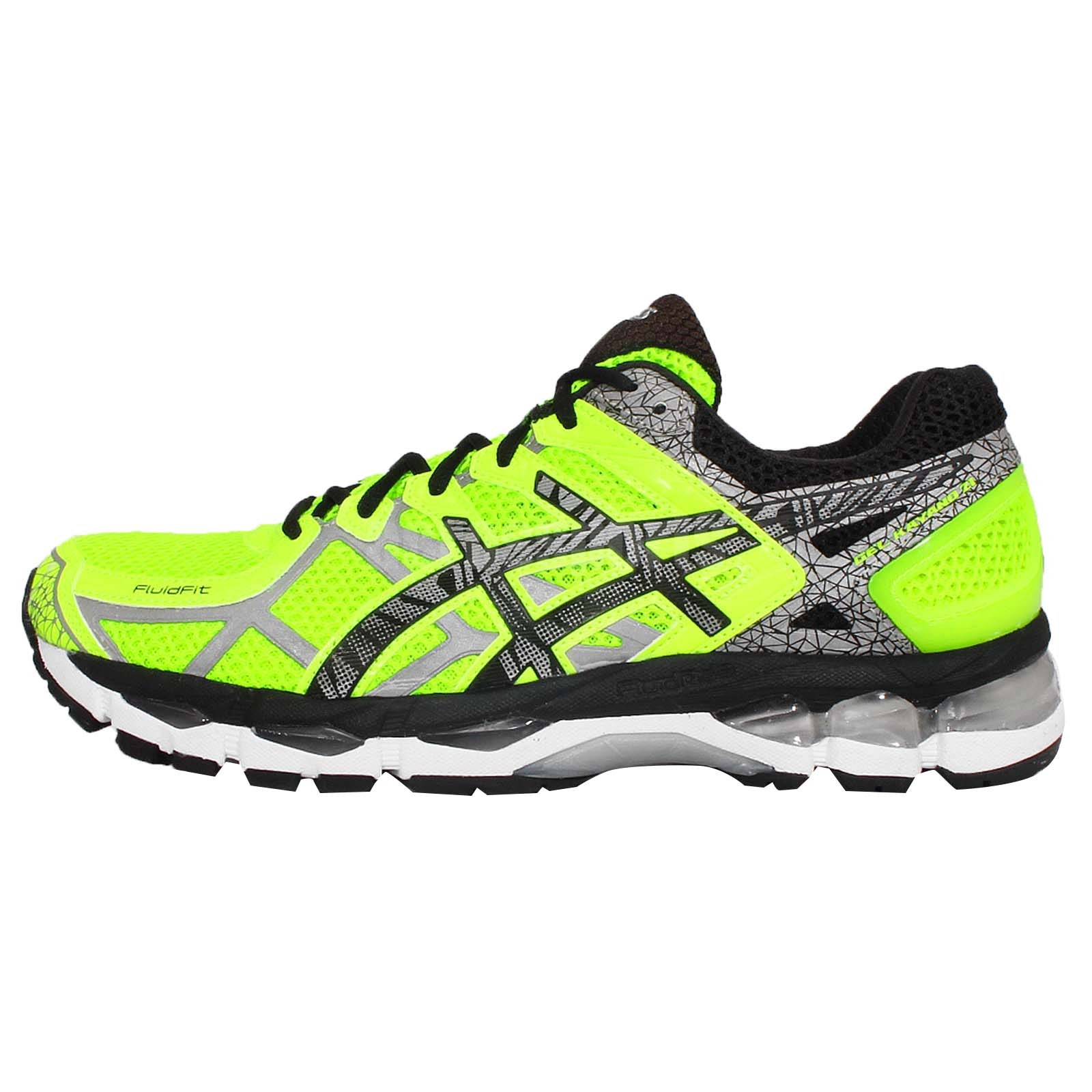 asics gel kayano 21 lite show yellow black mens cushion runner running shoes ebay. Black Bedroom Furniture Sets. Home Design Ideas