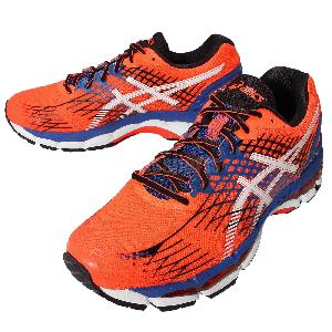 asics gel nimbus 17 mens orange