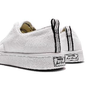 converse jack purcell gray 05g4  Converse Jack Purcell M-Series White Canvas Mens Casual Shoes Sneakers  153618C