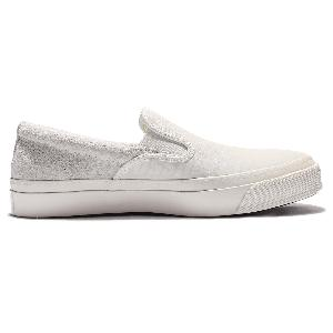 converse gray slip on bnkj  Converse Deck Star 67 Grey Beige Suede Mens Casual Shoes Slip On 153856C