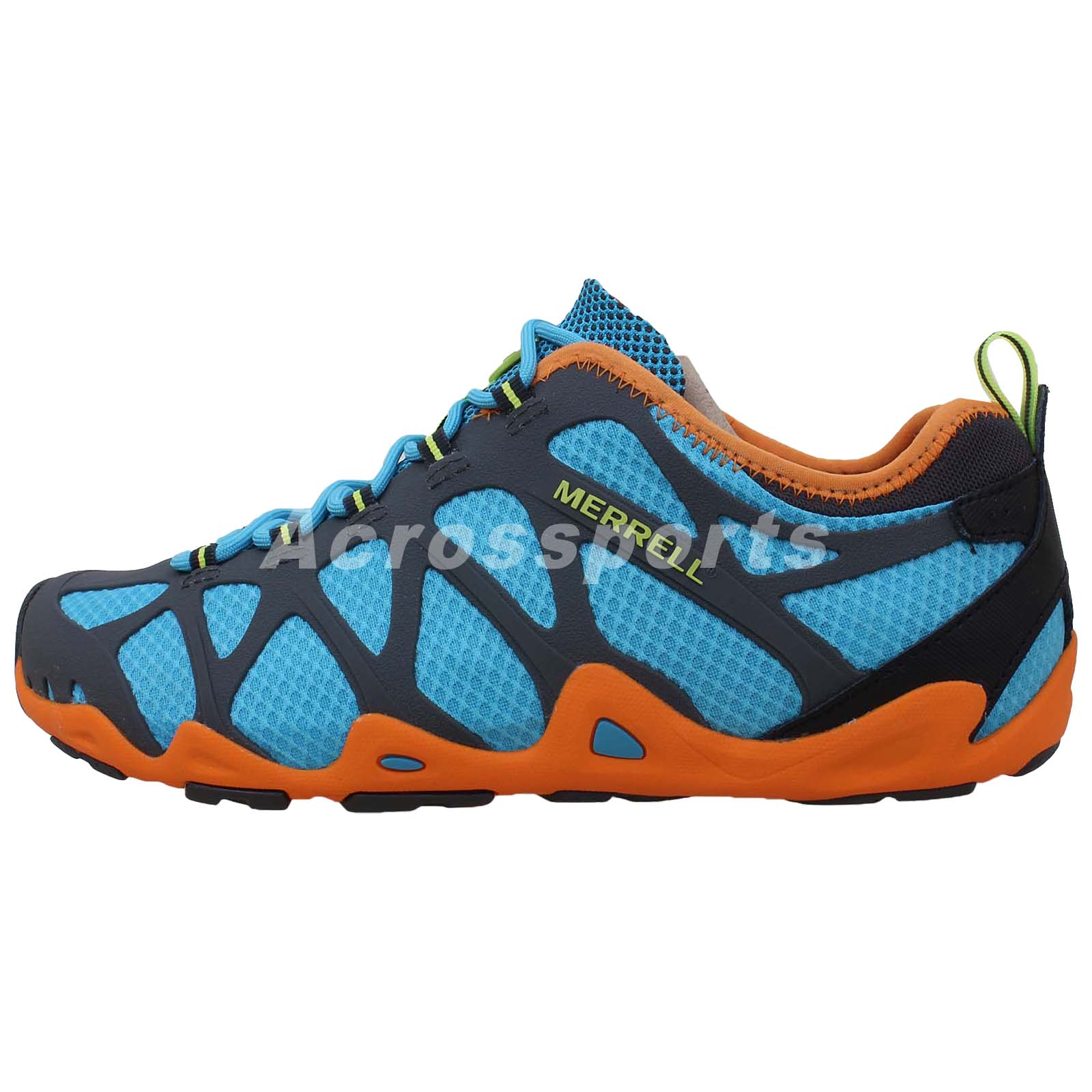 Merrell Aquaterra Blue Orange 2014 Mens Outdoors Hiking