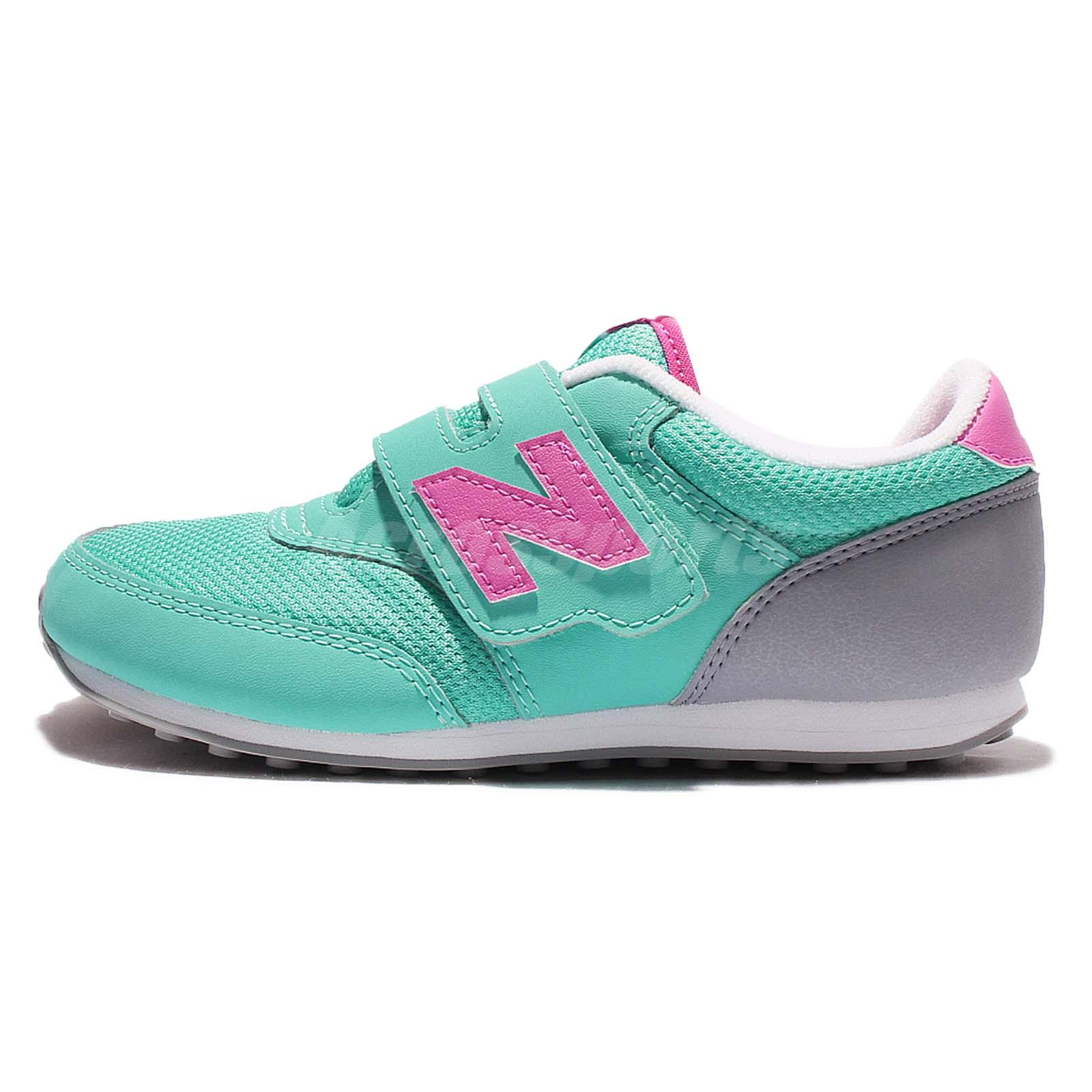 new balance k620app w wide green pink boys grils
