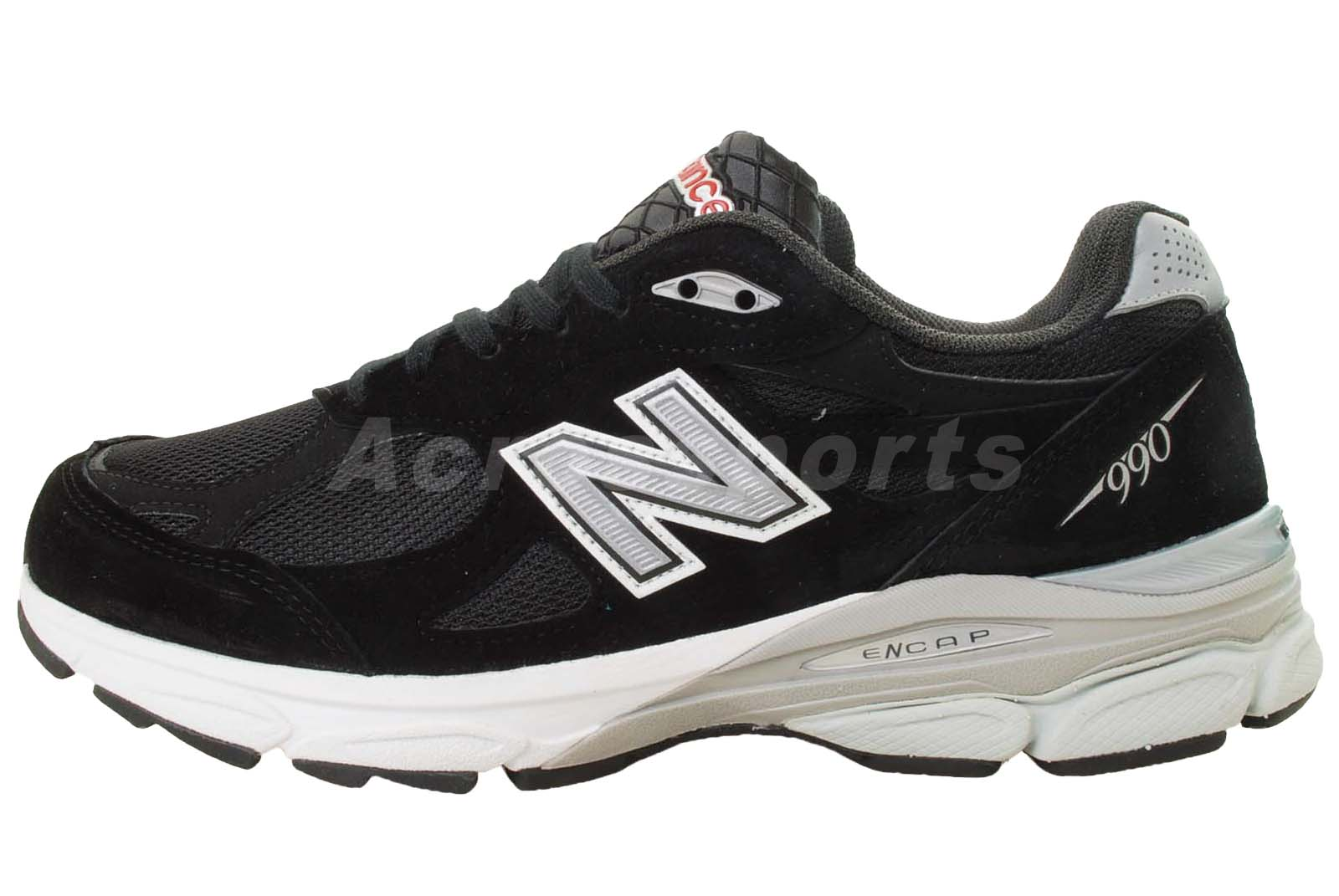 new balance m990bk3 2e black mens running shoes m990