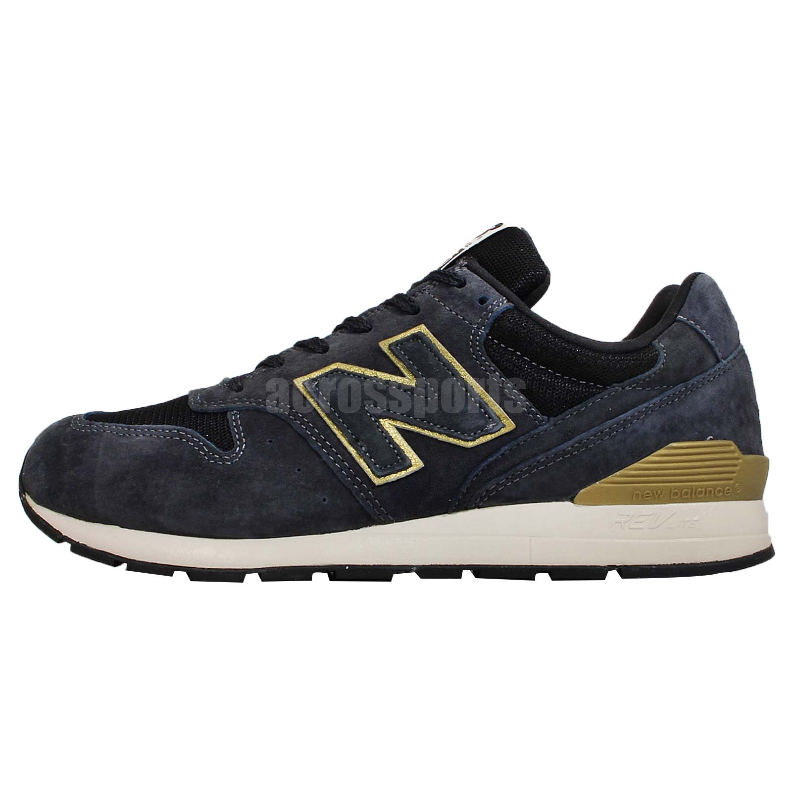 new balance mrl996hb d navy gold revlite mens running shoes mrl996hbd. Black Bedroom Furniture Sets. Home Design Ideas