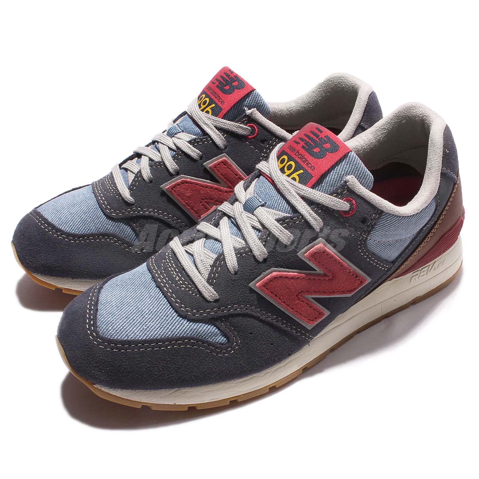 new balance mrl996nf d revlite navy brown red men running shoe sneaker mrl996nfd ebay. Black Bedroom Furniture Sets. Home Design Ideas