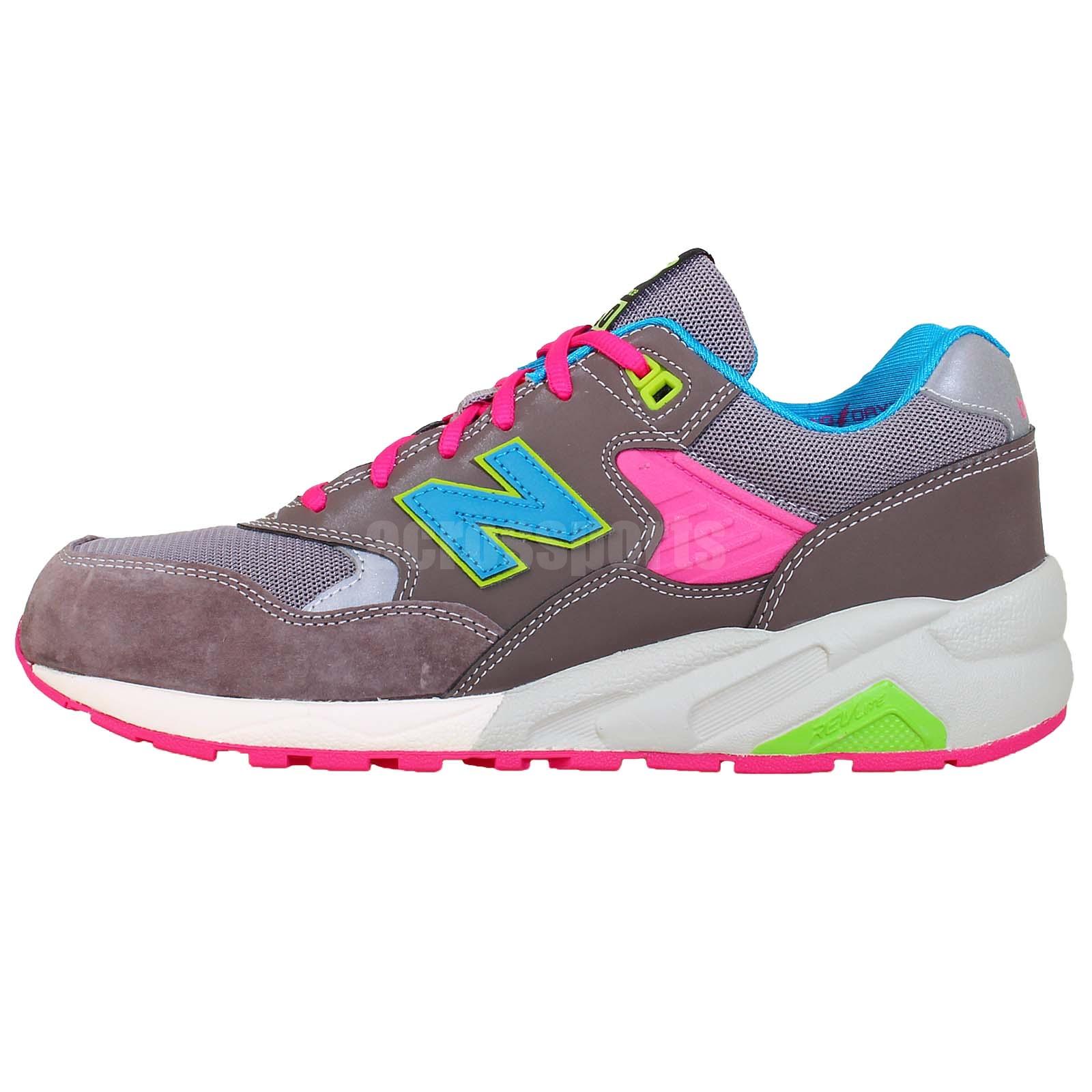 new balance mrt580ba d grey blue pink mens running shoes