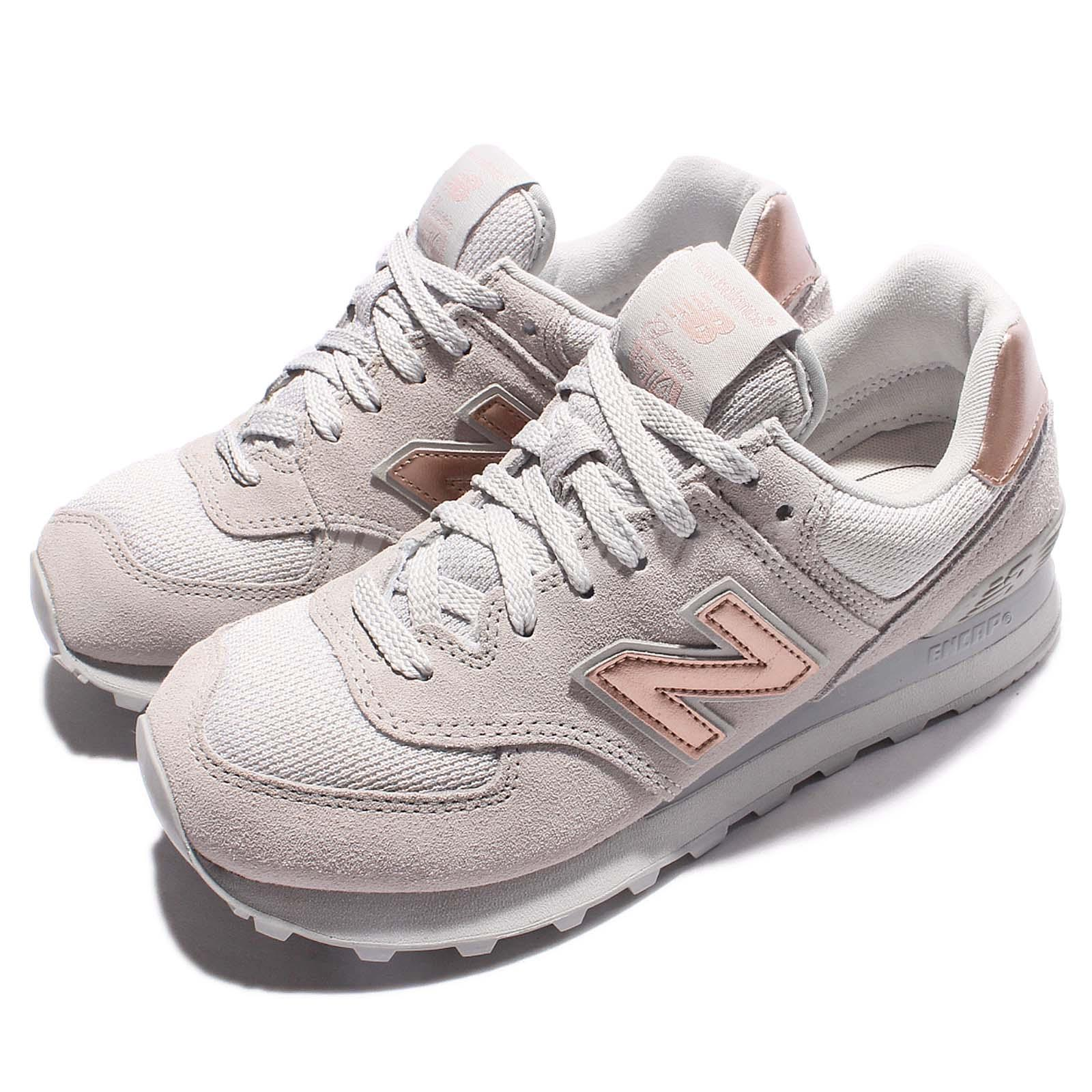 new balance wl574chc b grey gold women running shoes. Black Bedroom Furniture Sets. Home Design Ideas