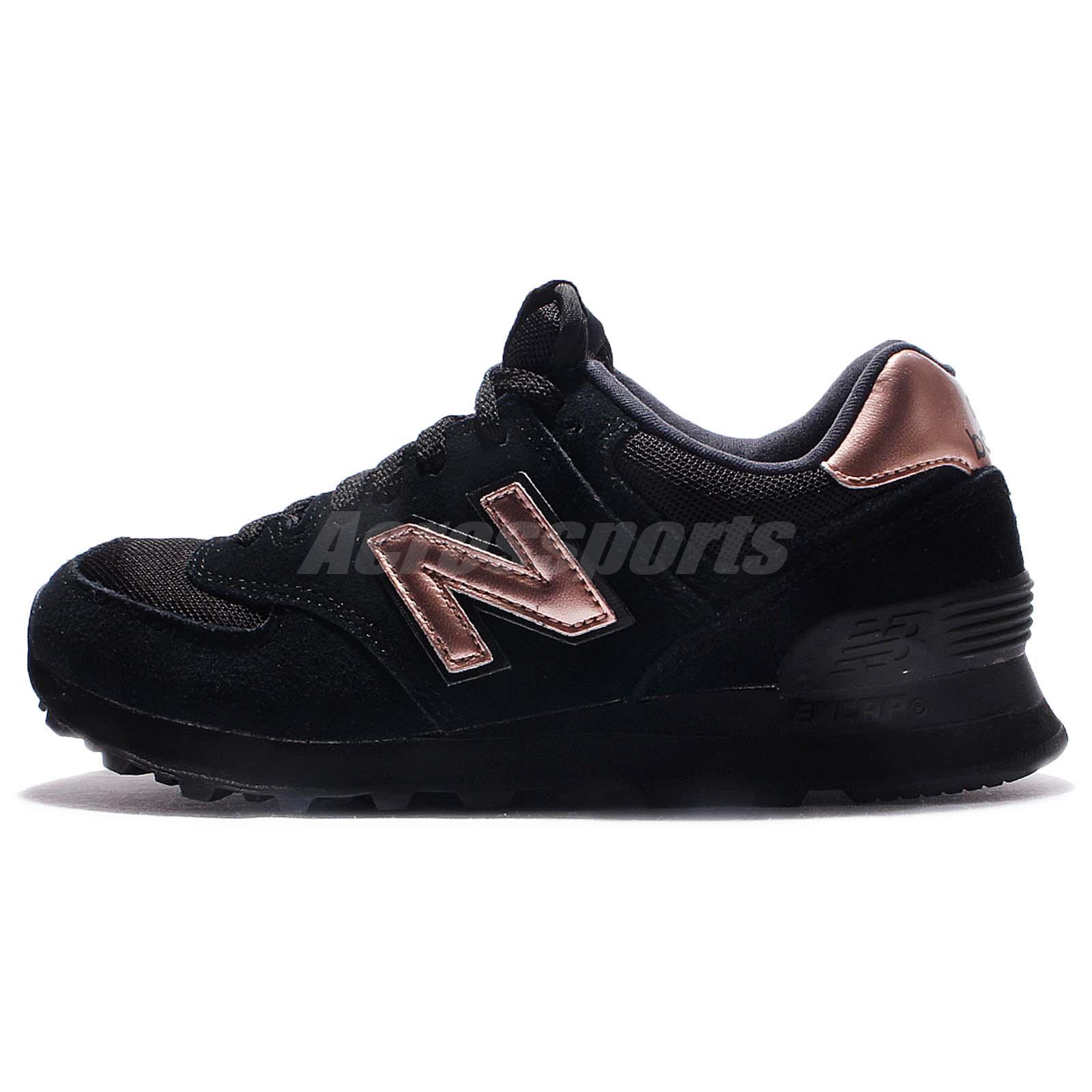 new balance wl574chd b molten metallic black gold women running shoes wl574chdb ebay. Black Bedroom Furniture Sets. Home Design Ideas