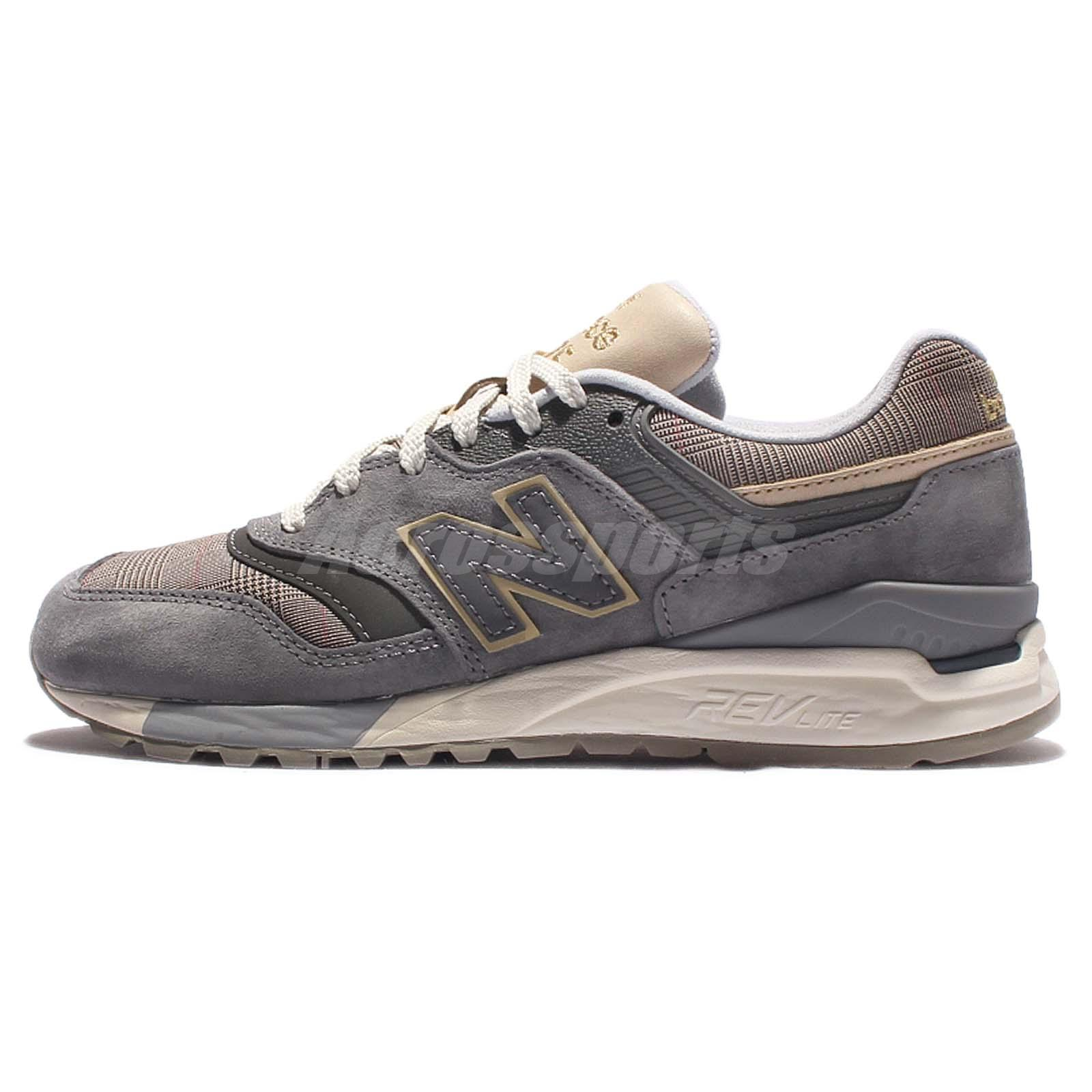 new balance wl997hwa b grey yellow suede womens running shoes sneakers wl997hwab ebay