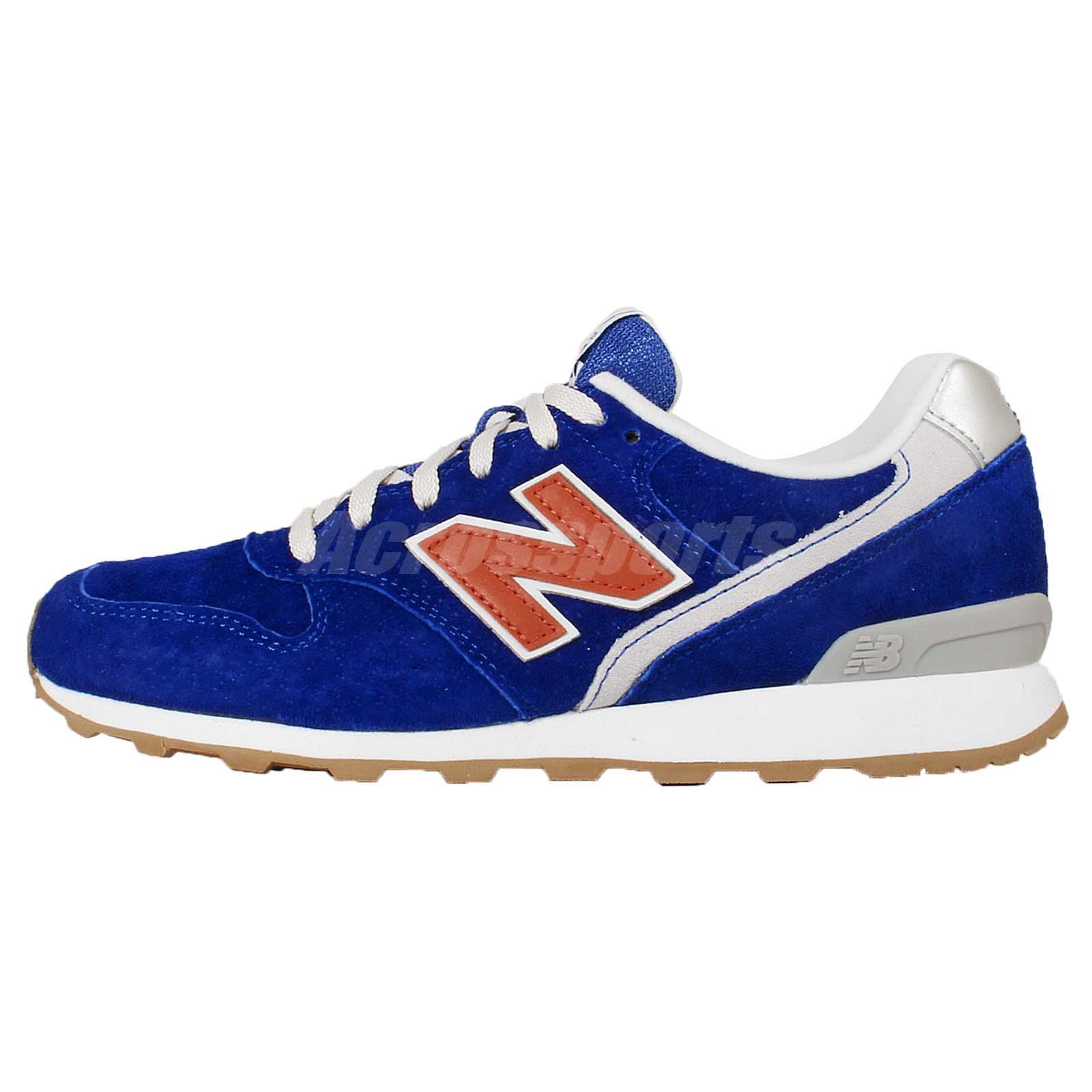 new balance wr996ld d blue orange suede womens retro