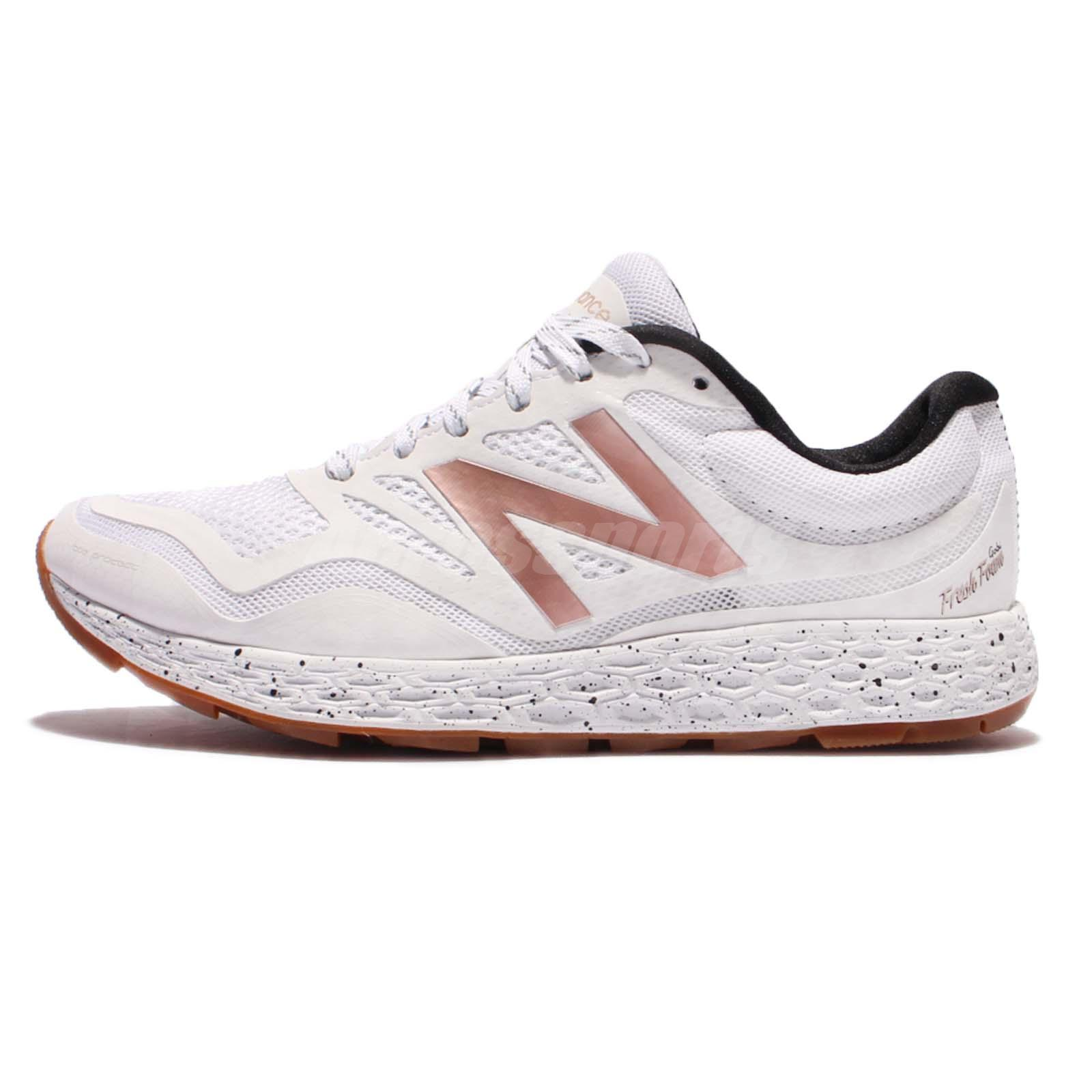 new balance wtgobiwg d wide white rose gold women running shoe sneaker wtgobiwgd ebay. Black Bedroom Furniture Sets. Home Design Ideas