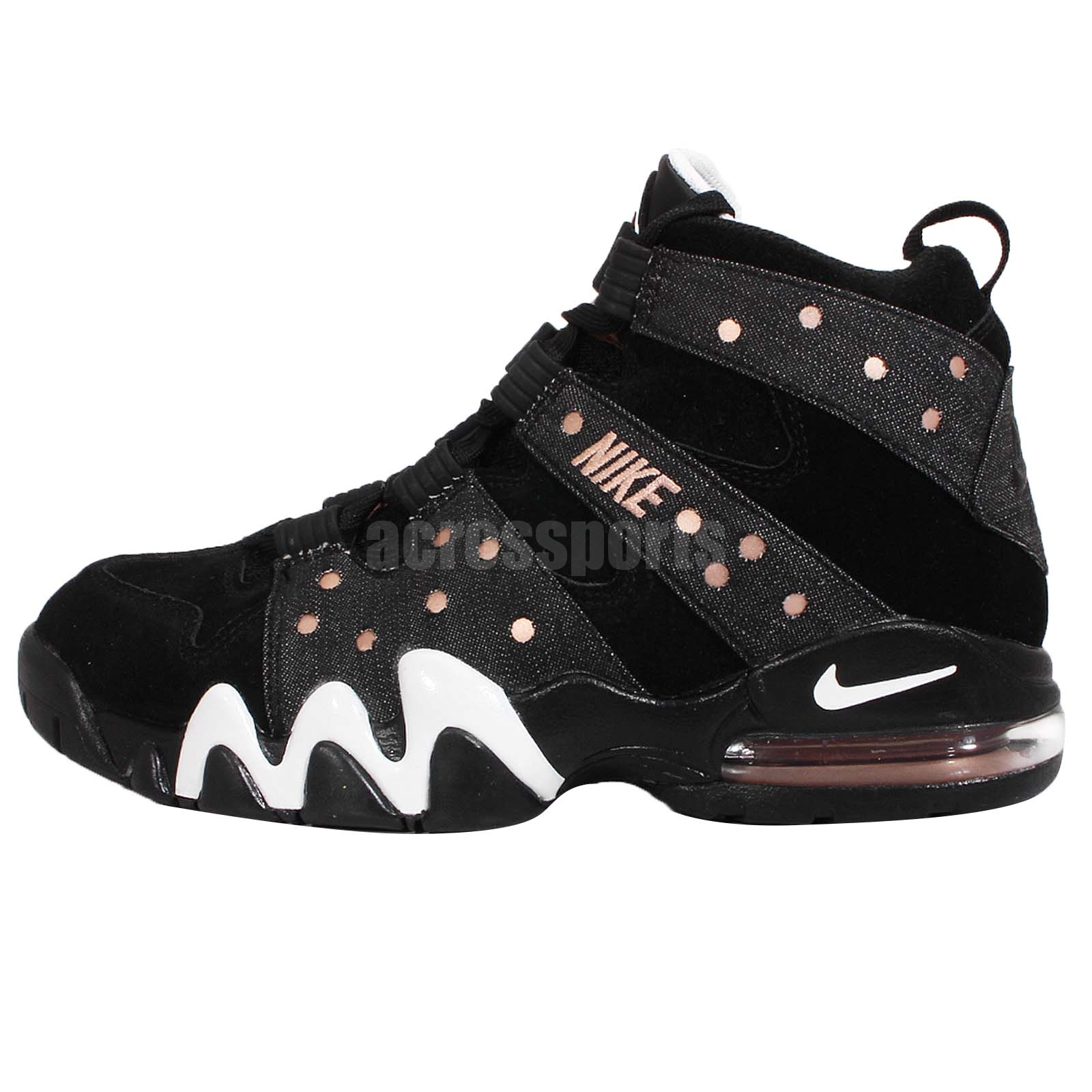 nike air max 2 cb 94 charles barkley black bronze mens