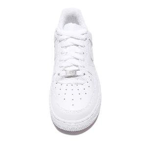 bfbdp Wmns Nike Air Force 1 07 White Whiteout Womens Casual Shoes AF1
