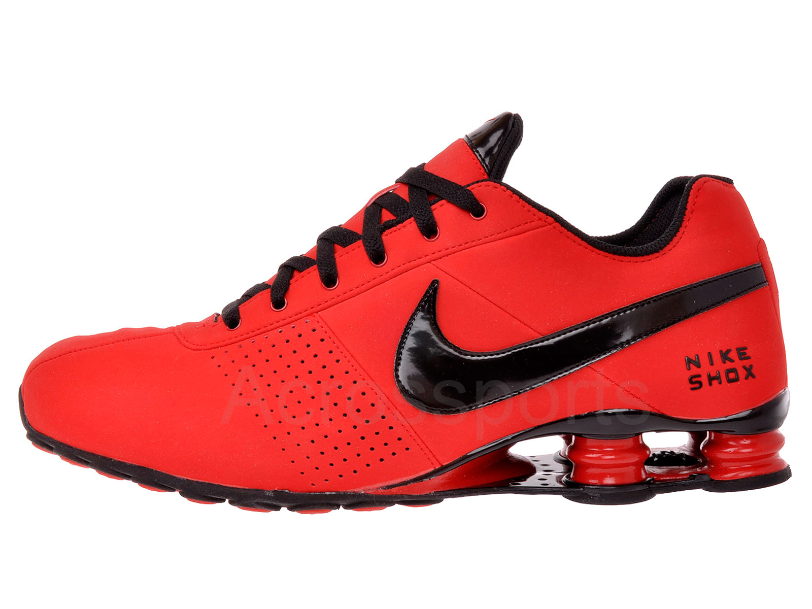 Nike Shox Deliver All Red