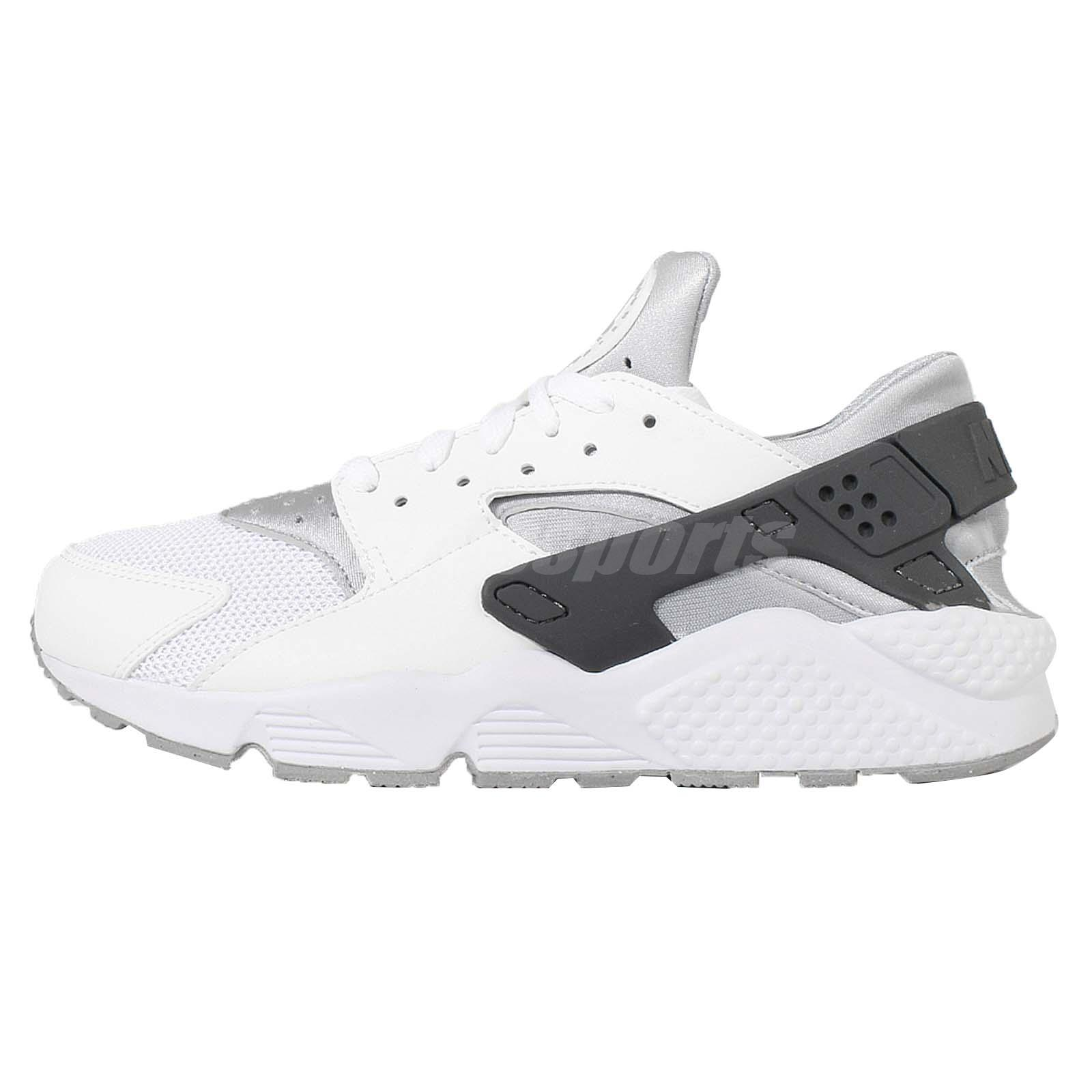 Nike Air Huarache White Wolf Grey Black