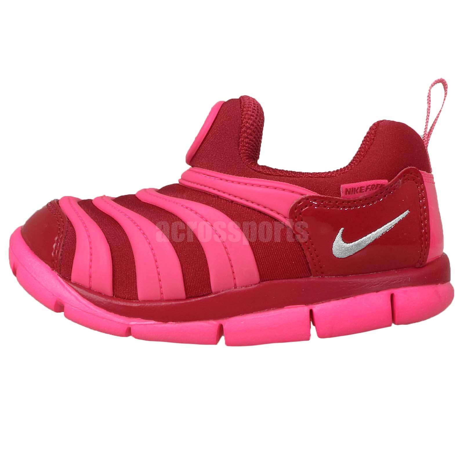 nike dynamo free td pink 2015 toddler baby running