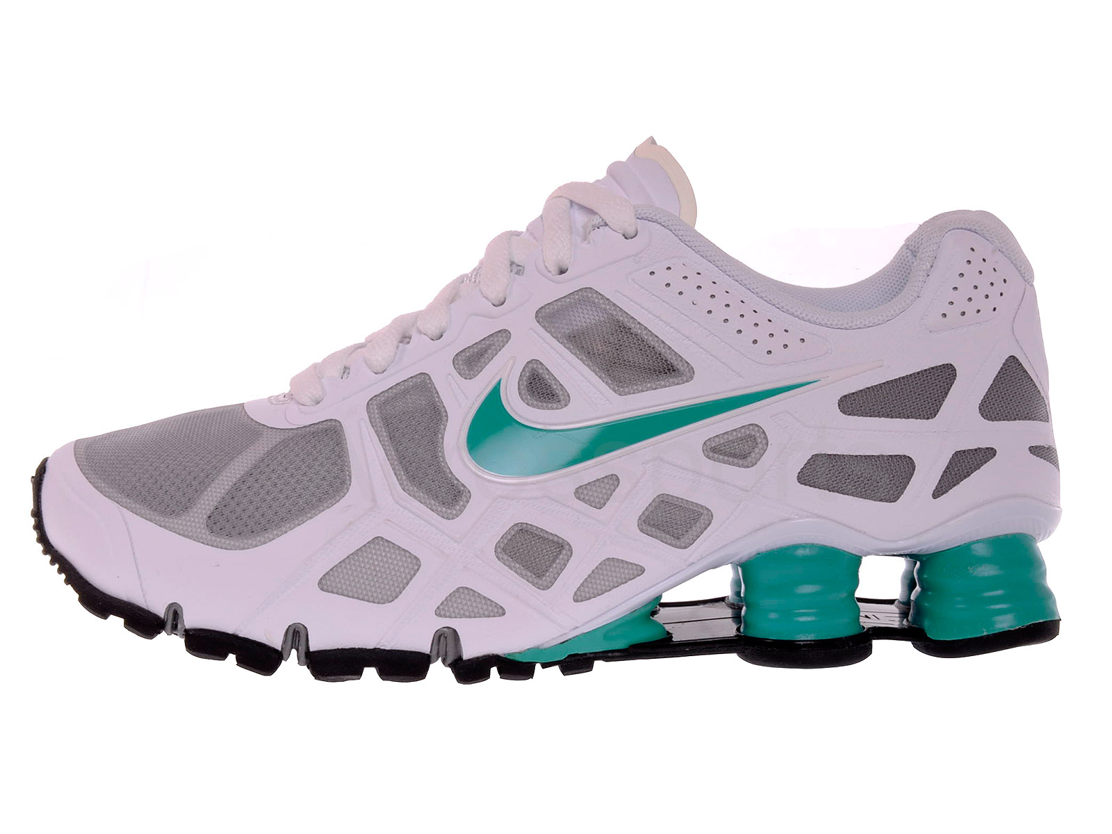 White Nike Shox Youth