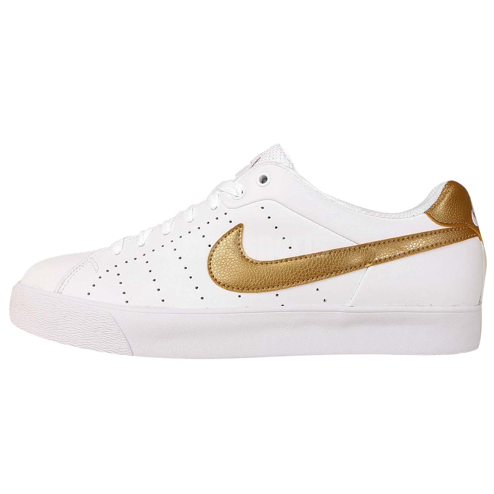 nike court tour white gold 2014 mens classic tennis casual