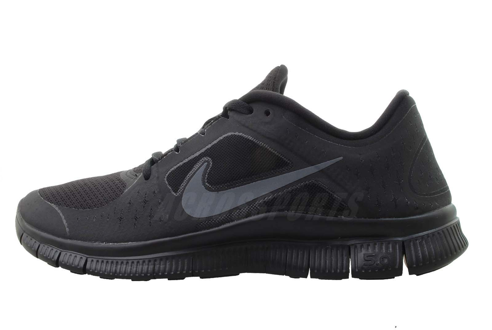 nike free run 3 all black mens