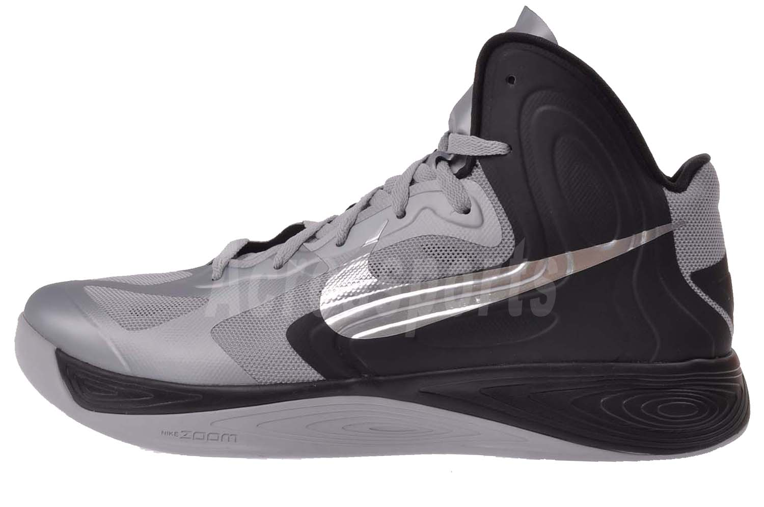 nike hyperfuse 2012 mens basketball shoes wolf grey black