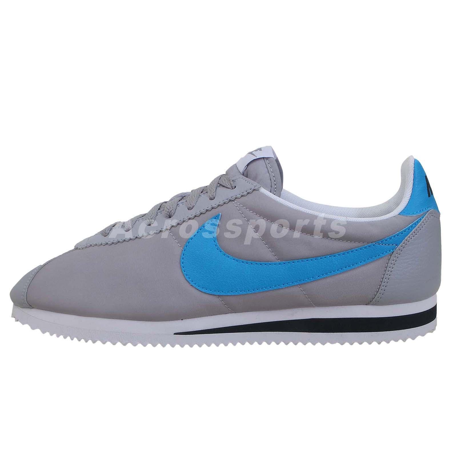 nike classic cortez grey blue 2014 mens retro
