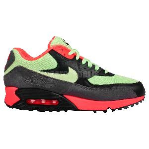 Nike Air Max 90 Essential Vapor Green Infrared Mens Running Shoes 537384 303 | eBay