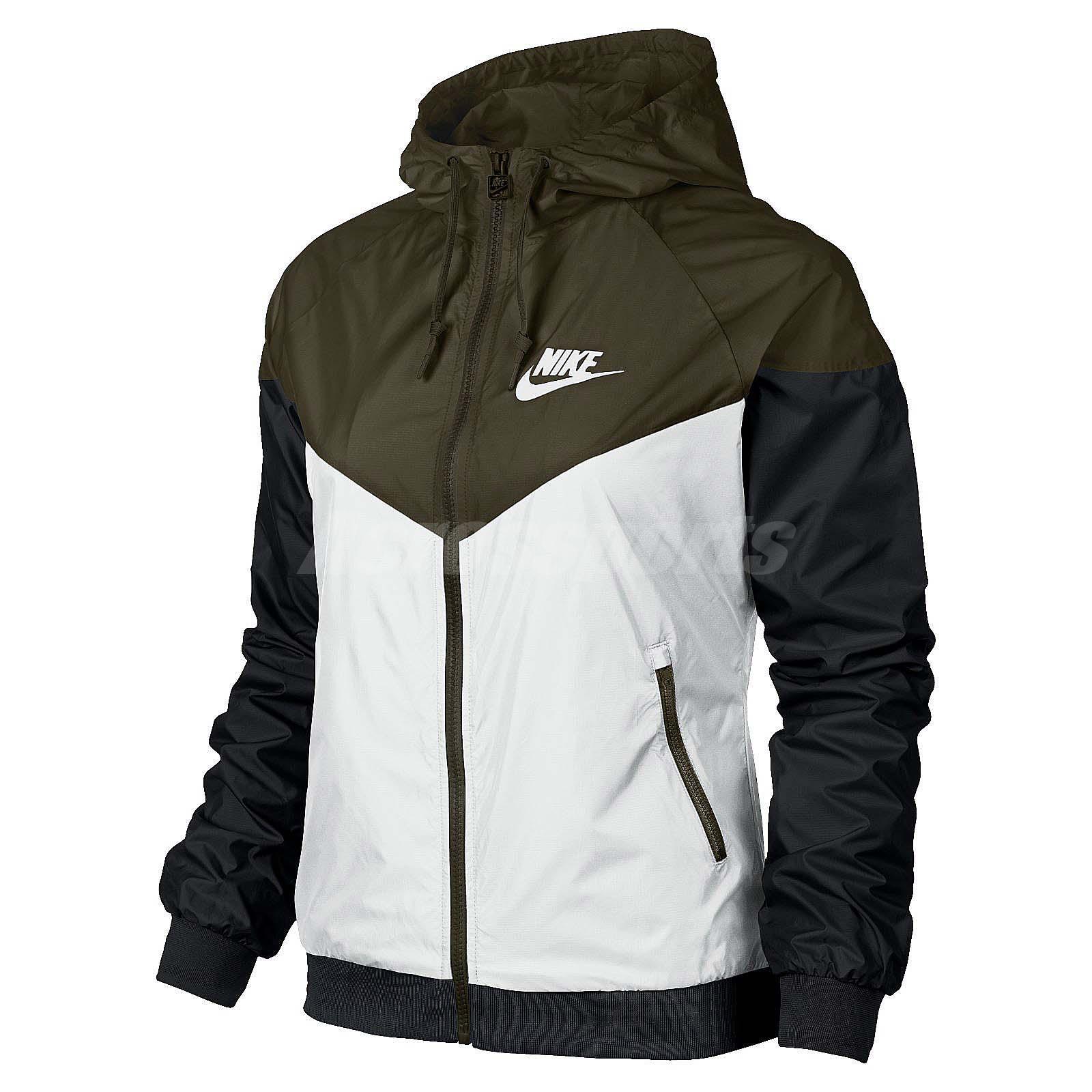 Nike windbreaker jacket women