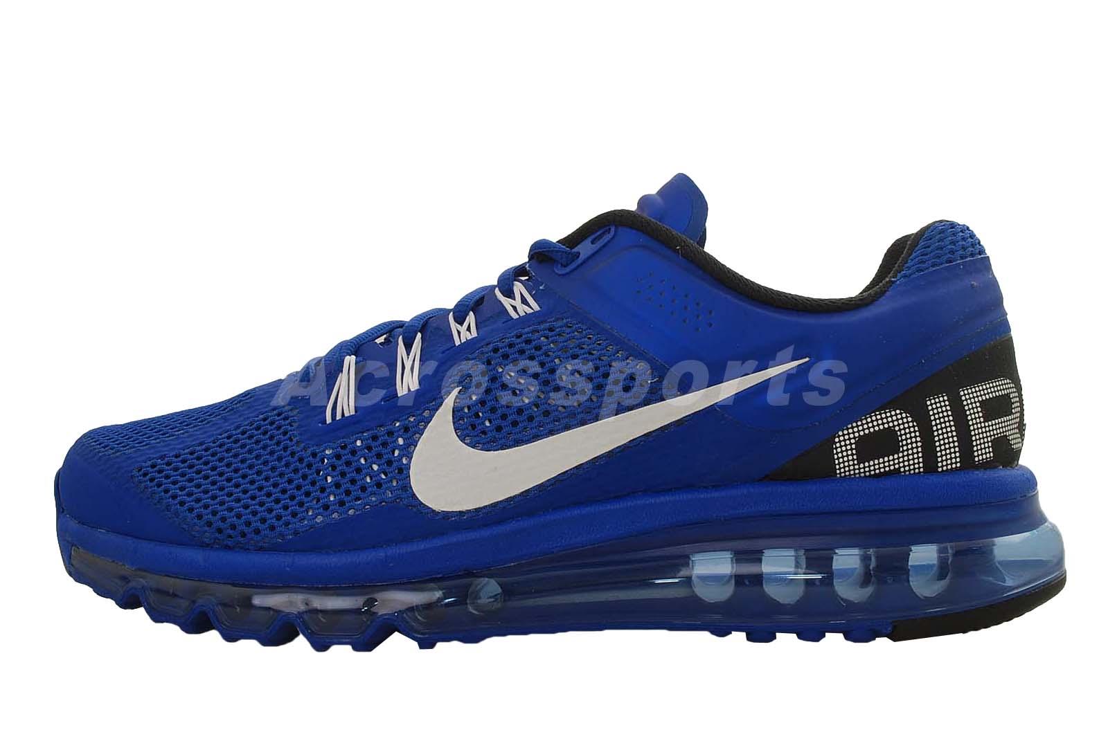 nike air max 2013 hyper blue mens running shoes 360 554886