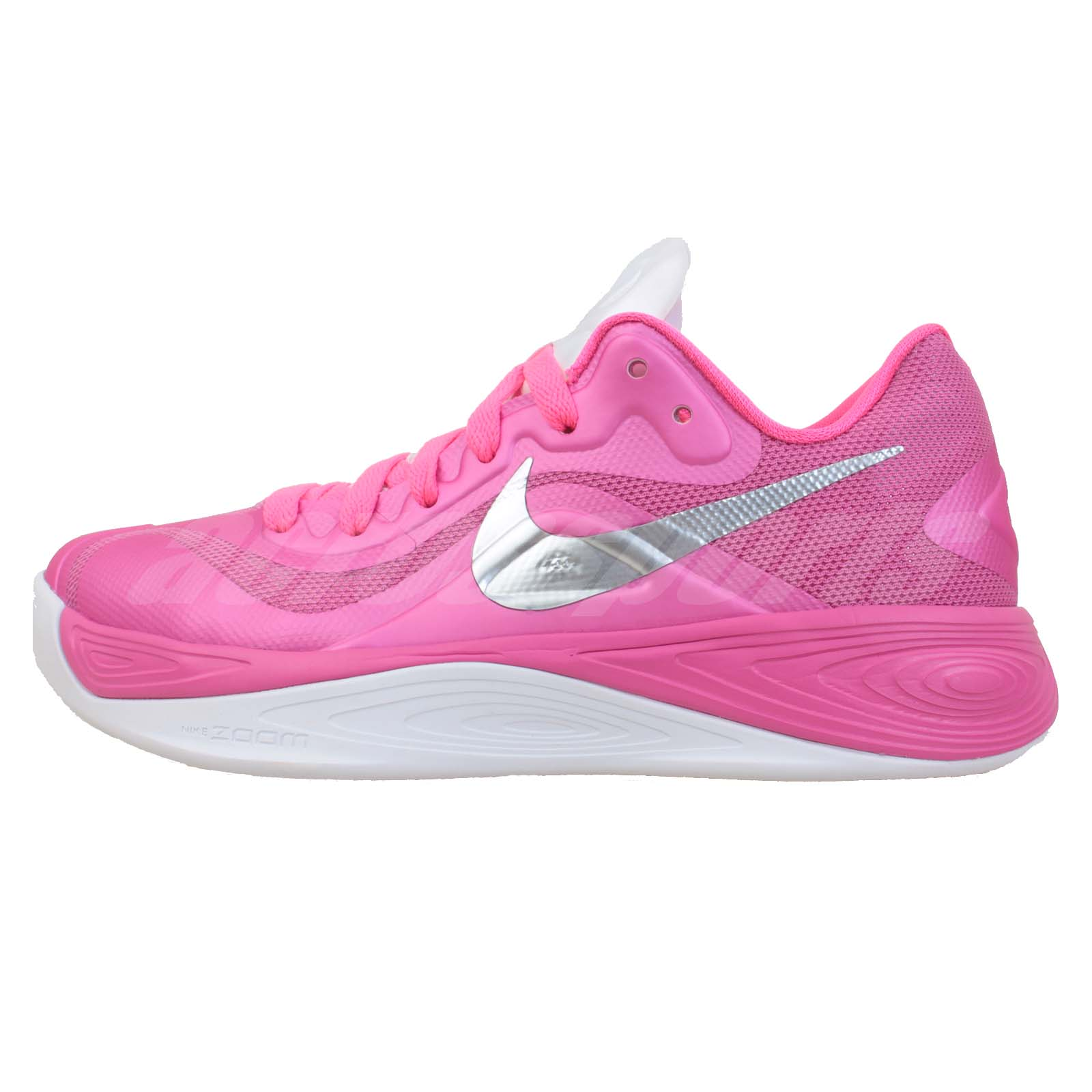 Breast Cancer Basketball Shoes