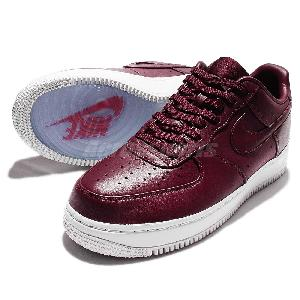 Nike LAB Air Force 1 Low Night Maroon Mens Casual Shoes Sneakers AF1 555106 661