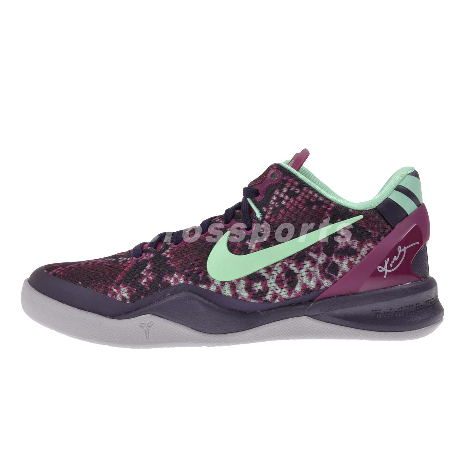 Kobe Bryant Youth Basketball Athletic Shoes Green Black