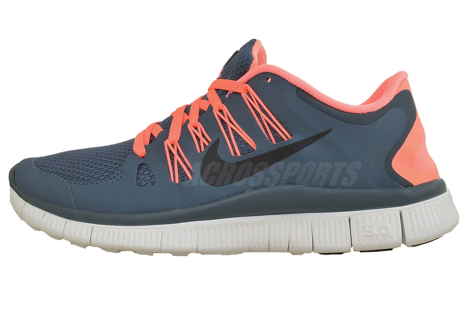 nike wmns free 5 0 plus navy pink 2013 new run womens running shoes 580591 446 ebay. Black Bedroom Furniture Sets. Home Design Ideas