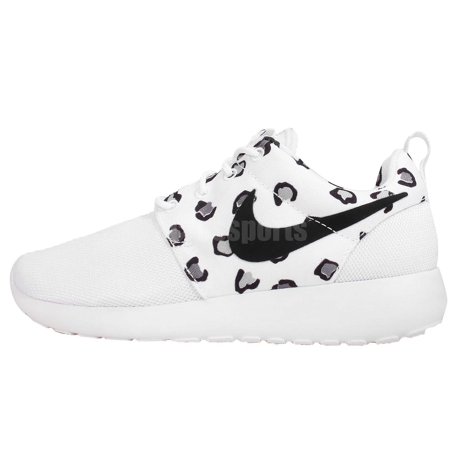 nike cheetah print casual shoes
