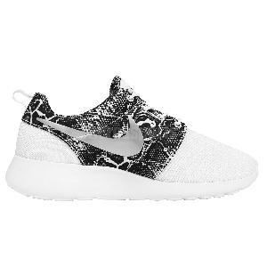 ssfcf Wmns Nike Roshe One Print Snakeskin White Silver Womens Running